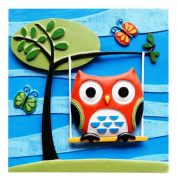 [Waiting for You] Cute 3D Paint-By-Number Kits Kids DIY Painting Crafts,Over 5Y