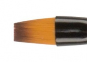 Ebony Splendour Brush Short Handle Angular 1/4