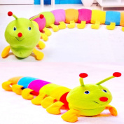 Popular New Colourful Inchworm Soft Lovely Developmental Child Baby Toy Doll Toy Gift