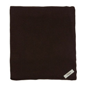 My Blankee Cotton Swaddle Baby Blanket, Brown, 120cm X 120cm