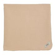 My Blankee Cotton Swaddle Baby Blanket, Latte, 120cm X 120cm