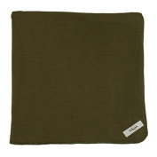 My Blankee Cotton Swaddle Baby Blanket, Olive Green, 120cm X 120cm