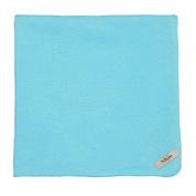 My Blankee Cotton Swaddle Baby Blanket, Aqua, 120cm X 120cm