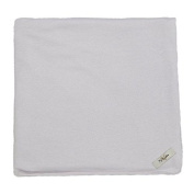 My Blankee Cotton Swaddle Baby Blanket, Silver, 120cm X 120cm