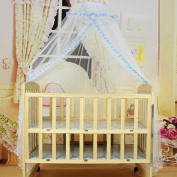 Voberry® Baby Infant Bed Net Mosquito Net Crib Tent Canopy Netting for Crib Cot