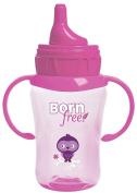 1 Bornfree 270ml Drinking Cup, New, BPA Free Pink