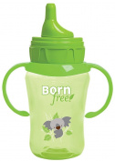 1 Bornfree 270ml Drinking Cup, New, BPA Free Green