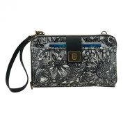 Sakroots Artist Circle Large Smartphone Cross Body Phone Wallet