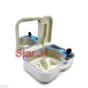 2pcs Denture Dental Orthodontic Mouthguard Retainer Case Box with Mirror Brush