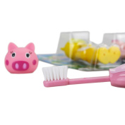 Kids Child Toothbrush Travel Lot of 3 Animal Character Soft