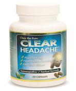 Clear Headache - 60 Capsules