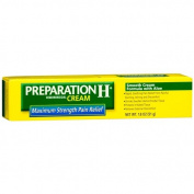 Preparation H Hemorrhoidal Cream, Maximum Strength Pain Relief 50ml