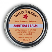 Joint Ease Balm. Fast Acting, Penetrating - 100% Natural and Organic Herbal relief from soreness, stiffness, inflammation and painful joints.