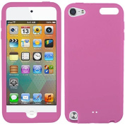 Baby Light Pink Silicon Soft Rubber Skin Case Cover For Apple iPod Touch iTouch 5