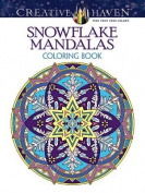 Creative Haven Snowflake Mandalas Coloring Book