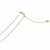 Leslies 14k Adjustable .7mm Baby Box Chain