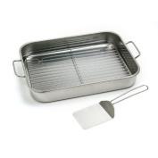 Norpro 30cm by 41cm Stainless Steel Roast Lasagna Pan