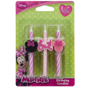 Disney Minnie Mouse Cake Candles - 6 pc
