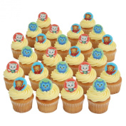 Daniel Tiger Officially Licenced 24 Cupcake Topper Rings