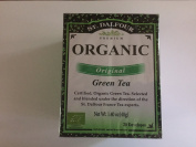St. Dalfour Organic Green Tea, 20 Bags Individually Wrapped