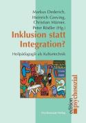 Inklusion Statt Integration? [GER]