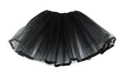 Hairbows Unlimited Black Ribbon Lined Basic Ballet Tutu