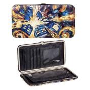 Doctor Who Van Gogh Exploding TARDIS Hinge Wallet