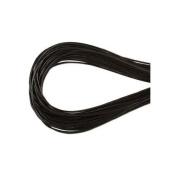 1.5mm Greek Leather Cord Dark Brown Round Cording