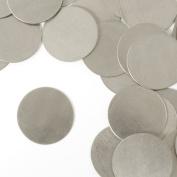 ImpressArt, Circle, 2.2cm , Aluminium Stamping Blanks- 24 pc.
