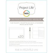 Project Life Photo Sleeve Fuse 20/pkg - 10cm x 15cm - 380509