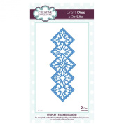 Craft Die CED1609 Sue Wilson Striplet Collection - Stacked Diamond