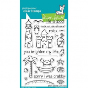 Lawn Fawn Clear Stamps - Life Is Good