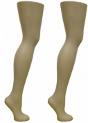 2 Free Standing Female Mannequin Leg Sock and Hosiery Display Foot 70cm Tall or Christmas Leg Lamp