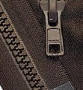 Zipperstop Wholesale YKK® 50cm Vislon Zipper ~ YKK #5 Moulded Plastic ~ Separating - 868 Sabel Brown