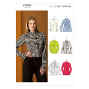 Vogue Patterns V9029 Misses' Blouse Sewing Template, Size F5