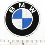BMW Germany Racing Car Team Iron on Patch Embroidered Racing DIY T-shirt Jacket 7cm x 7cm