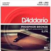 D'Addario EJ76 Phosphor Bronze Medium Mandola Strings