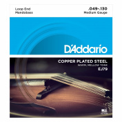 D'Addario J79 Copper Mandobass Strings, 49-130