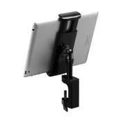 On-Stage TCM1908 Grip-On Universal Device Holder with U-Mount Bullnose Clamp