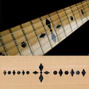 Fretboard Markers Inlay Sticker Decals for Guitar & Bass - Checker Diamonds - BP