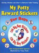 My Potty Reward Stickers for Boys