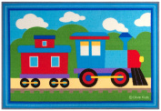 Wildkin Olive Kids Trains, Planes and Trucks Duvet Cover
