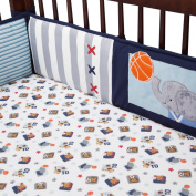Lambs & Ivy Future All Star Crib Bumper
