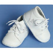 Angels Garment Baby Toddler Boys White Dove Christening Shoes 1-7