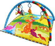 Baby Play Gym, Play Mat, Activity Mat - Dinosaur Pattern - By Inside Out Toys