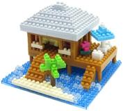 nanoblock Nanoido Resort Cottage NBI_002