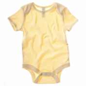 Bella Canvas 100 Baby Rib Short Sleeve One Piece Babygrow