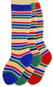 Baby Knee Socks, Striped, Pack of 3