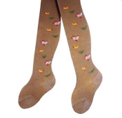 Baby Tights Motif Chickens