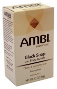 Ambi Cleansing Bar Soap Black With Shea Butter 100ml